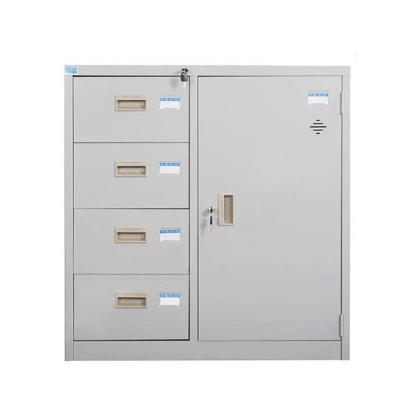 Tủ tài liệu ghép cao cấp Hòa Phát mã TU88-4D