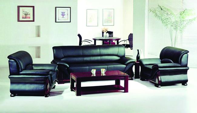 Bộ sofa bọc da cao cấp Hòa Phát mã SF02