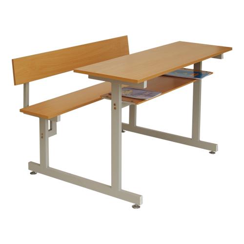 Bộ bàn sinh viên liền ghế Hòa Phát mã BSV105T