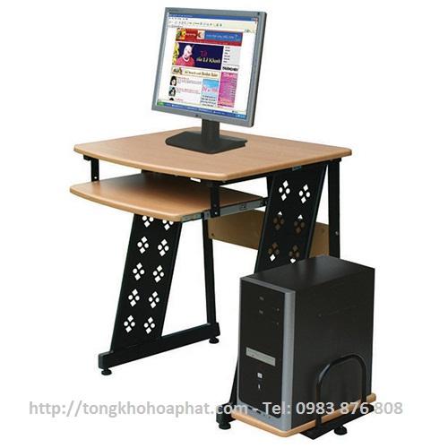 Bàn máy tính khung thép Hòa Phát BMT11