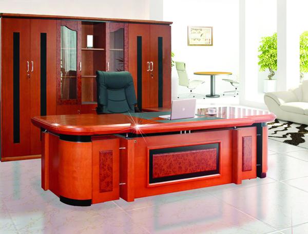 Bộ bàn tủ giám đốc Hòa Phát cao cấp DT3212VM7, DC3246VM7