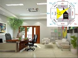 Nguyên tắc thiết kế văn phòng theo đúng thuyết phong thủy người Phương Đông