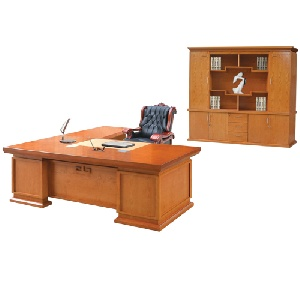 Bộ bàn làm việc lãnh đạo Hòa Phát Veneer DT2411V6, DC2448V6, M3DV6, TPV6