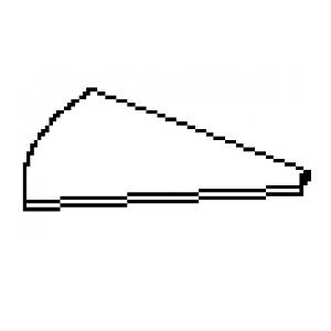 Góc bàn Hòa Phát mã SVG90