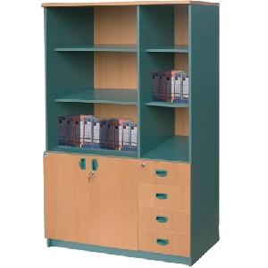Tủ tài liệu gỗ văn phòng Hòa Phát mã SV1960-3G/4D