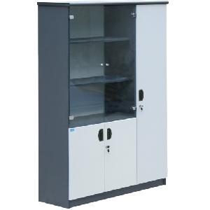 Tủ tài liệu gỗ 3 buồng Hòa Phát mã HP1960-3B
