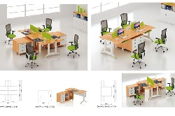 Tư vấn chọn bàn làm việc văn phòng phù hợp cho công ty