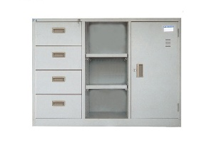 Tủ tài liệu ghép Hòa Phát mã TU118-4D