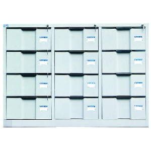 Tủ tài liệu ghép Hòa Phát 12 ngăn mã TU118-12D