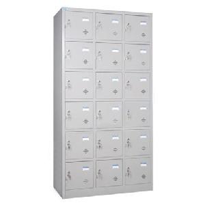 Tủ tài liệu locker 18 ngăn Hòa Phát mã TU986-3K