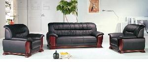 Bộ sofa bọc da cao cấp Hòa Phát mã SF01