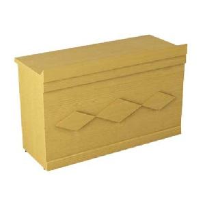 Bàn hội trường Hòa Phát gỗ Veneer BHT12DV2 - Yếm bàn ốp hình quả trám