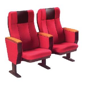 Mẫu ghế hội trường Hòa Phát cao cấp có bàn viết gỗ TC03B