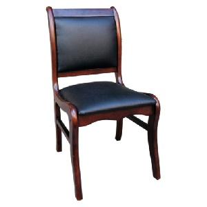 Ghế hội trường Hòa Phát gỗ tự nhiên chân tĩnh đệm PVC GHT05