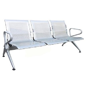 Ghế chờ Hòa Phát 3 chỗ ngồi khung thép GPC06-3