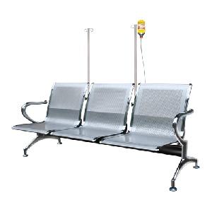 Ghế phòng chờ bệnh viện 3 chỗ ngồi GPC02-3-CT