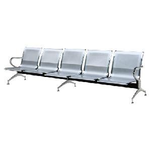 Ghế phòng chờ khung thép 5 chỗ cao cấp Hòa Phát GPC02-5