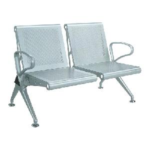 Ghế phòng chờ khung thép Hòa Phát 2 chỗ ngồi GPC03-2