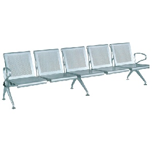 Ghế phòng chờ Hòa Phát khung thép 5 chỗ ngồi GPC03-5