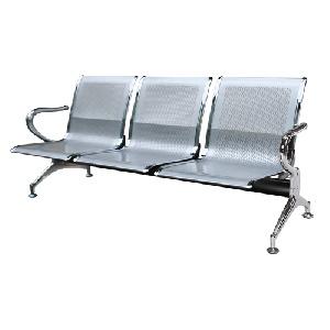 Ghế phòng chờ 3 chỗ Hòa Phát khung thép cao cấp GPC02-3