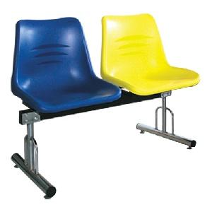 Ghế phòng chờ nhựa 2 chỗ ngồi Hòa Phát giá rẻ PC202T1