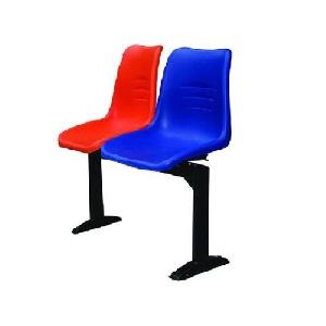 Ghế phòng chờ nhựa 2 chỗ ngồi Hòa Phát giá rẻ PC202T9