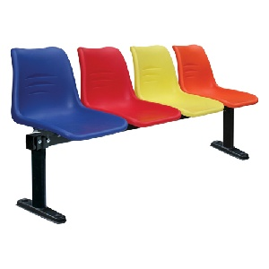 Ghế phòng chờ Hòa Phát 4 chỗ ngồi nhựa PC204T9