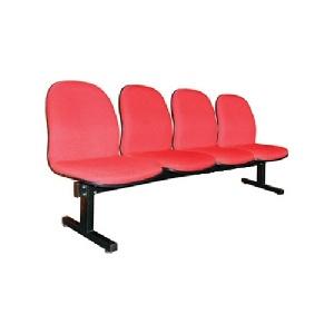 Ghế phòng chờ 4 chỗ đệm tựa mút bọc vải nỉ PC204N