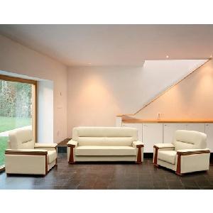 Bộ sofa nệm da Hòa Phát cao cấp SF34