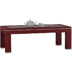 Bàn trà Sofa gỗ mặt kính Hòa Phát BSF61V sang trọng