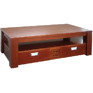 Bàn trà sofa Hòa Phát gỗ tự nhiên BFS64V đơn giản mà đẹp
