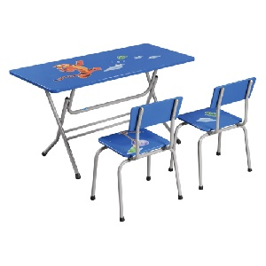 Bộ bàn ghế mẫu giáo gấp Hòa Phát GMG101, BMG101