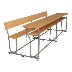 Bộ bàn ghế sinh viên Hòa Phát 4 chỗ BSV240 đẹp sang trọng