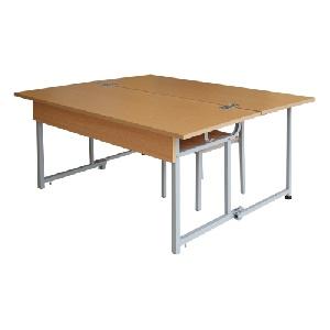 Bộ bàn ghế học sinh bán trú Hòa Phát mã BBT103