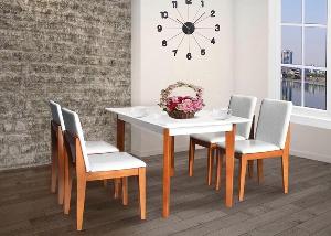 Bộ bàn ghế ăn gỗ Hòa Phát cao cấp HGB62A, HGG62