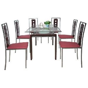 Bộ bàn ghế ăn Hòa Phát sang trọng thanh lịch B51, G51