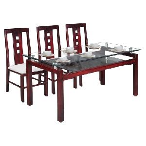 Bộ bàn ghế phòng ăn Hòa Phát mã TB09, TGA24
