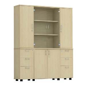 Tủ gỗ văn phòng Hòa Phát AT1960-4B