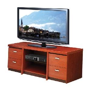 Kệ tivi gỗ Hòa Phát KTV01 kiểu dáng đẹp, thanh lịch