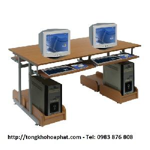 Bàn máy tính khung thép Hòa Phát BM101