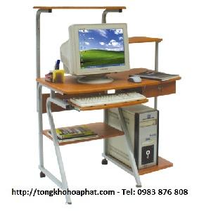 Bàn máy tính khung thép Hòa Phát BMT97B