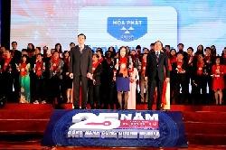 Hòa Phát lọt top 15 thương hiệu mạnh nhất Việt Nam lần thứ 13