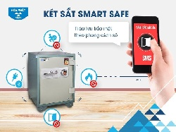 Két sắt Smart Safe - Trào lưu bảo mật theo phong cách số