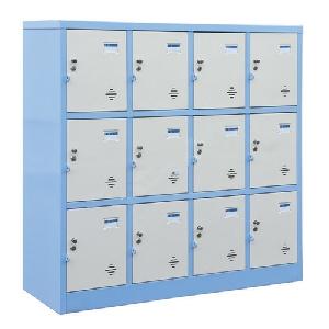 Tủ sắt locker 12 ngăn TMG983-4K dùng cho trường học