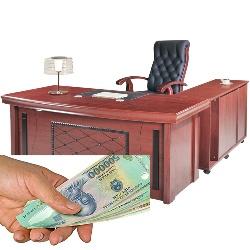 Với 3 triệu đồng nên mua bàn làm việc giám đốc nào thì hợp lý?