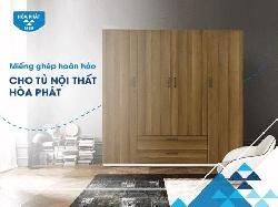 Tìm hiểu về tủ sắt gia đình cánh gỗ thương hiệu mới của nội thất Hòa Phát
