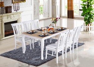 Bộ bàn ăn gia đình cao cấp Hòa Phát HGB61B